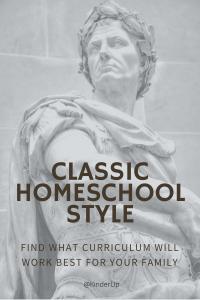 Classical Homeschool Style